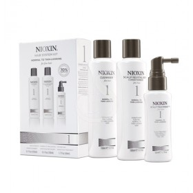 NIOXIN SYSTEM №1. NORMAL TO THIN-LOOKING FOR FINE HAIR