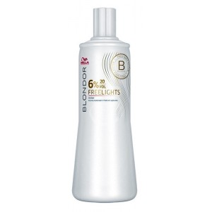 wella blondor freelights 6%, 1000 ml