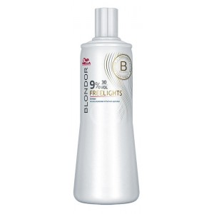 wella blondor freelights 9%, 1000 ml