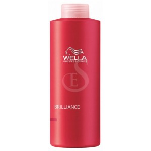 wella brilliance shampoo, 1000 ml