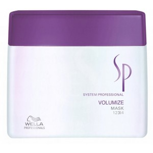 wella sp volumize mask, 400 ml
