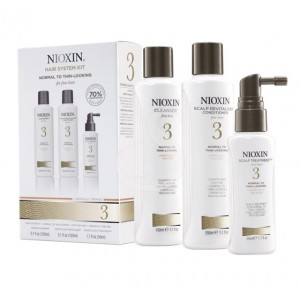 NIOXIN SYSTEM №3. HAIR SYSTEM KIT - NORMAL TO THIN-LOOKING FOR FINE HAIR