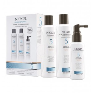 NIOXIN SYSTEM №5. FOR MEDIUM TO COARSE, NORMAL TO THIN LOOKING, NATURAL AND CHEMICALLY TREATED HAIR