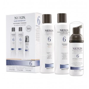 NIOXIN SYSTEM №6. FOR MEDIUM TO COARSE, NORMAL TO THIN LOOKING, NATURAL AND CHEMICALLY TREATED HAIR