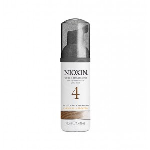 NIOXIN System 4 Scalp and Hair Treatment with Sunscreen for Fine, Noticeably Thinning, Chemically Treated Hair