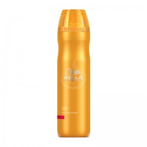 wella sun shampoo hair and body, 250 ml