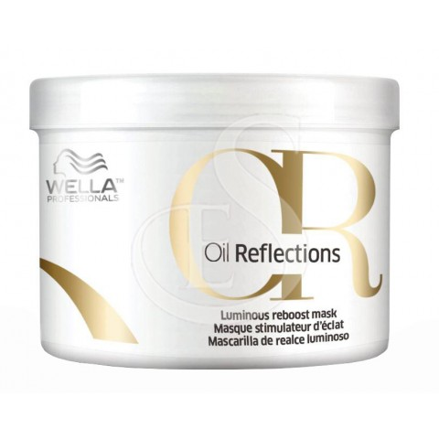 Wella oil reflections luminous reboost mask, 500 ml